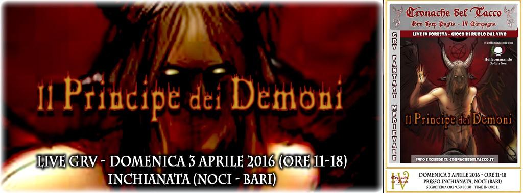 Copertina Live 4 Principe dei Demoni per Fb