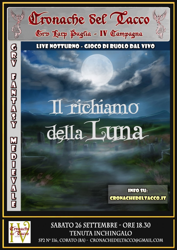 IV Campagna - Locandina Notturna